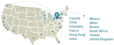 OLI works with many groups, both in the United States and abroad.