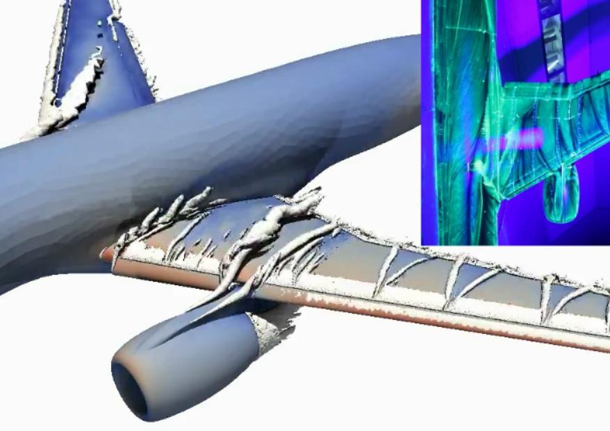 Flight simulation model